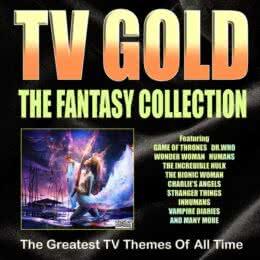 Обложка к диску с музыкой из сборника «TV Gold - The Fantasy Collection»