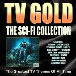 Обложка к диску с музыкой из сборника «TV Gold - Sci-Fi Collection»
