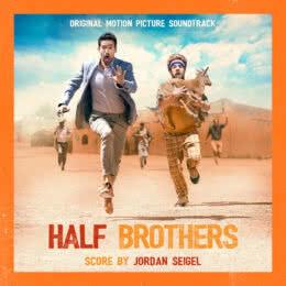 Обложка к диску с музыкой из фильма «Сводные братья»