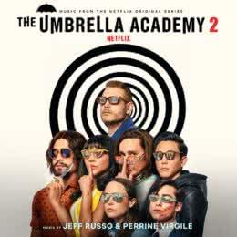 Обложка к диску с музыкой из сериала «Академия Амбрелла (2 сезон)»