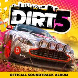 Обложка к диску с музыкой из игры «Dirt 5»