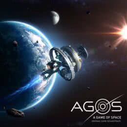 Обложка к диску с музыкой из игры «AGOS: A Game of Space»