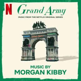 Обложка к диску с музыкой из сериала «Великая армия (1 сезон)»