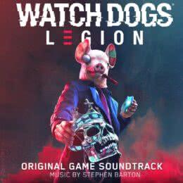 Обложка к диску с музыкой из игры «Watch Dogs: Legion»