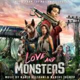 Маленькая обложка к диску с музыкой из фильма «Любовь и монстры»