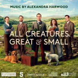 Обложка к диску с музыкой из сериала «О всех созданиях - больших и малых (1 сезон)»