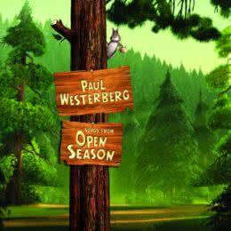 Обложка к диску с музыкой из мультфильма «Сезон охоты»
