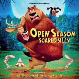Обложка к диску с музыкой из мультфильма «Сезон охоты: Байки из леса»