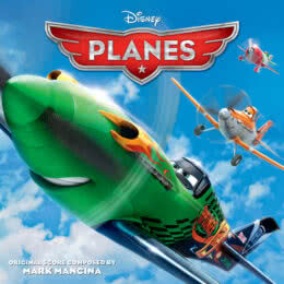 Обложка к диску с музыкой из мультфильма «Самолеты»