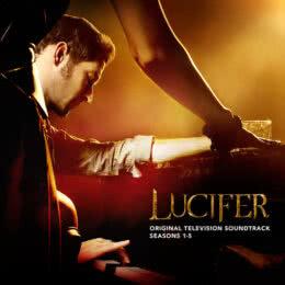 Обложка к диску с музыкой из сериала «Люцифер (1-5 сезон)»