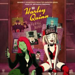 Обложка к диску с музыкой из сериала «Харли Квинн (2 сезон)»