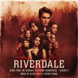 Обложка к диску с музыкой из сериала «Ривердэйл (3 сезон)»