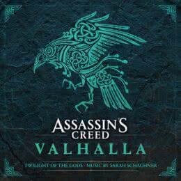 Обложка к диску с музыкой из игры «Assassin's Creed Valhalla: Twilight of the Gods»