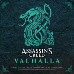Обложка к диску с музыкой из игры «Assassin's Creed Valhalla: Sons of the Great North»