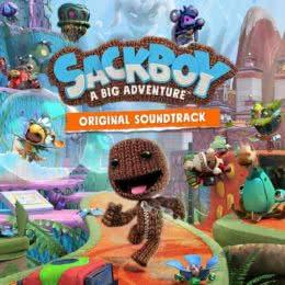 Обложка к диску с музыкой из игры «Sackboy: A Big Adventure»