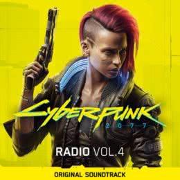 Обложка к диску с музыкой из игры «Cyberpunk 2077 (Radio Volume 4)»
