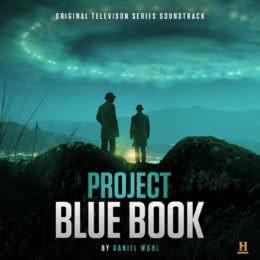 Обложка к диску с музыкой из сериала «Проект «Синяя книга» (1 сезон)»