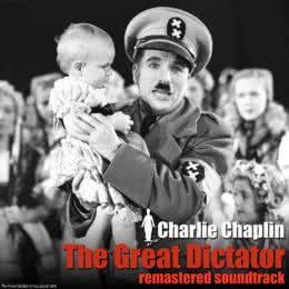 Обложка к диску с музыкой из фильма «Великий диктатор»