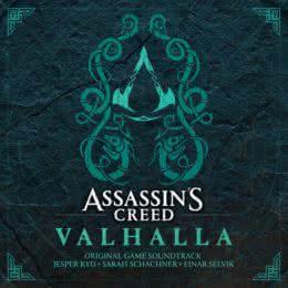 Обложка к диску с музыкой из игры «Assassin's Creed Valhalla»