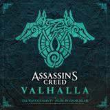 Маленькая обложка диска c музыкой из игры «Assassin's Creed Valhalla: The Wave of Giants»