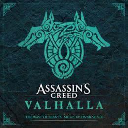 Обложка к диску с музыкой из игры «Assassin's Creed Valhalla: The Wave of Giants»