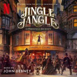 Обложка к диску с музыкой из фильма «Мистер Джангл и рождественское путешествие»