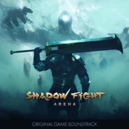 Обложка к диску с музыкой из игры «Shadow Fight Arena»