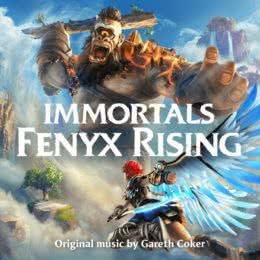 Обложка к диску с музыкой из игры «Immortals Fenyx Rising»