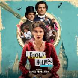 Обложка к диску с музыкой из фильма «Энола Холмс»