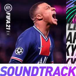 Обложка к диску с музыкой из игры «FIFA 21»