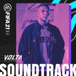 Обложка к диску с музыкой из игры «FIFA 21 VOLTA»