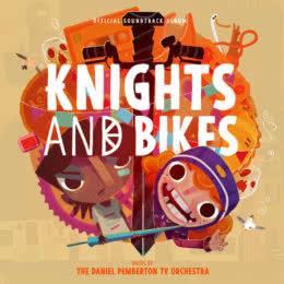 Обложка к диску с музыкой из игры «Knights and Bikes»