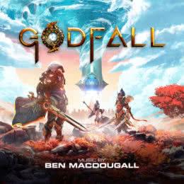 Обложка к диску с музыкой из игры «Godfall»
