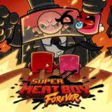 Маленькая обложка диска c музыкой из игры «Super Meat Boy Forever»