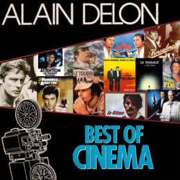 Обложка к диску с музыкой из сборника «Alain Delon: Best of Cinema»