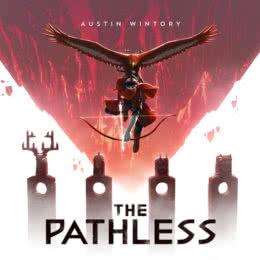 Обложка к диску с музыкой из игры «The Pathless»