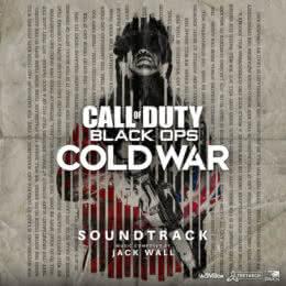 Обложка к диску с музыкой из игры «Call of Duty Black Ops: Cold War»