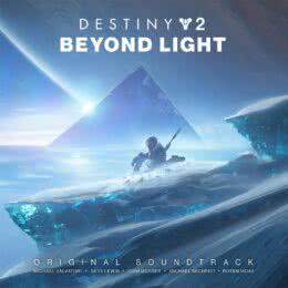 Обложка к диску с музыкой из игры «Destiny 2: Beyond Light»