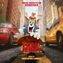 Обложка к диску с музыкой из фильма «Том и Джерри»