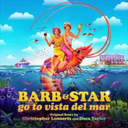 Обложка к диску с музыкой из фильма «Барб и Звезда едут в Виста дель Мар»