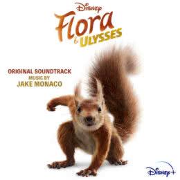 Обложка к диску с музыкой из фильма «Флора и Улисс»