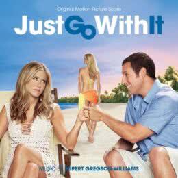 Обложка к диску с музыкой из фильма «Притворись моей женой»