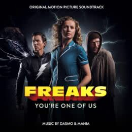 Обложка к диску с музыкой из фильма «Фрики: Ты один из нас»