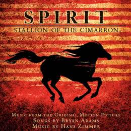 Обложка к диску с музыкой из мультфильма «Спирит: Душа прерий»