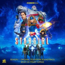 Обложка к диску с музыкой из сериала «Старгёрл (1 сезон)»