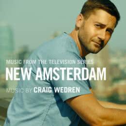 Обложка к диску с музыкой из сериала «Новый Амстердам»