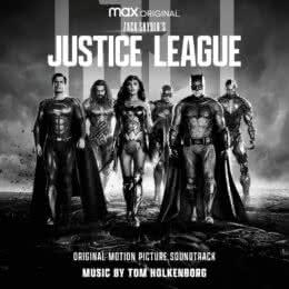 Обложка к диску с музыкой из фильма «Лига справедливости Зака Снайдера»