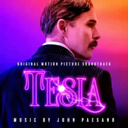 Обложка к диску с музыкой из фильма «Тесла»