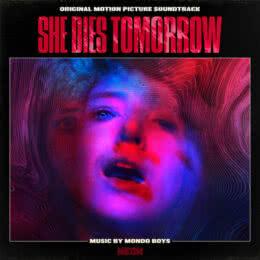 Обложка к диску с музыкой из фильма «Она умрёт завтра»