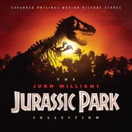 Обложка к диску с музыкой из сборника «The John Williams Jurassic Park Collection»